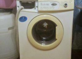 Как отбелить пожелтевшую пластмассу на стиральной машине?