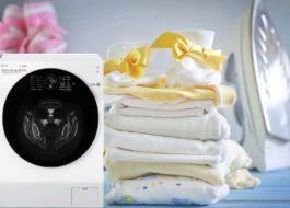 Как постирать пеленки для новорожденных в стиральной машине?