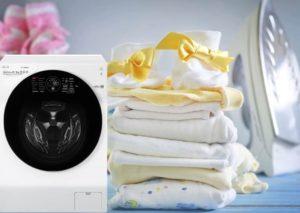 Как постирать пеленки для новорожденных в стиральной машине