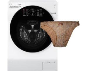 Как постирать трусы в стиральной машине?