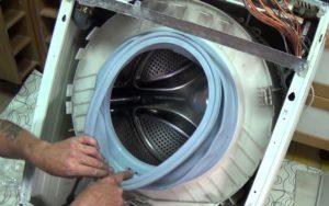 Как снять барабан стиральной машины Bosch?