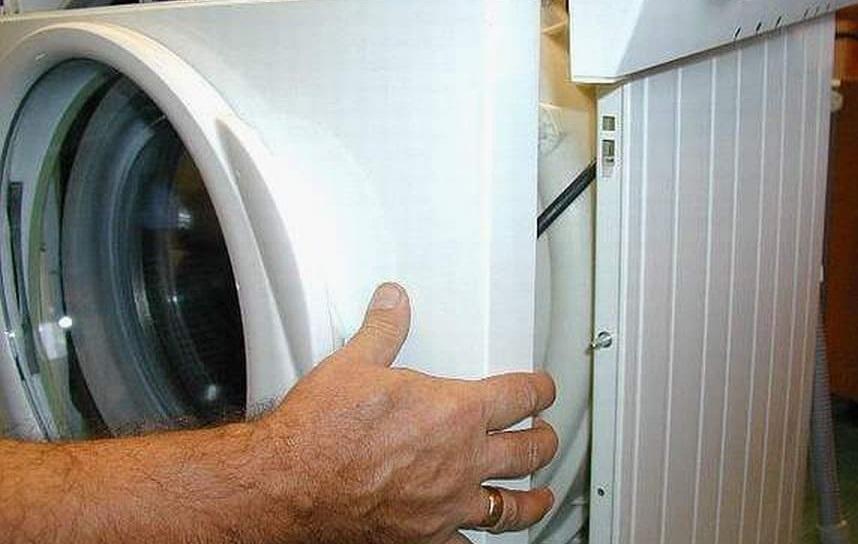 Как снять переднюю панель на стиральной машине Бош