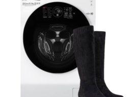 Можно ли постирать замшевые сапоги в стиральной машине?
