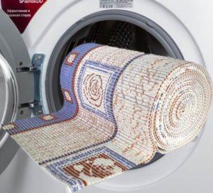 Можно ли прорезиненный коврик стирать в стиральной машине?