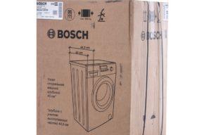 Размеры стиральной машинки Бош
