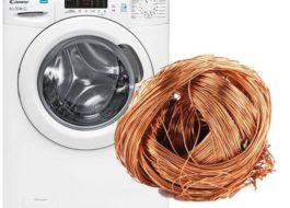 Сколько цветмета в стиральной машине?