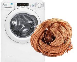 Сколько цветмета в стиральной машине