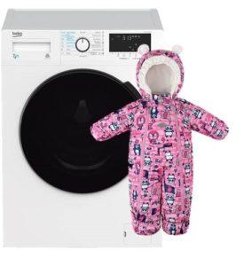 Стирка детского комбинезона в стиральной машине