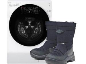 Стирка сапогов Куома в стиральной машине