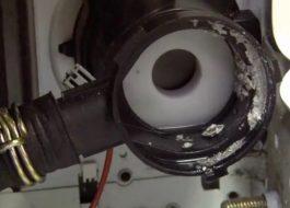 Чистка помпы стиральной машины Bosch
