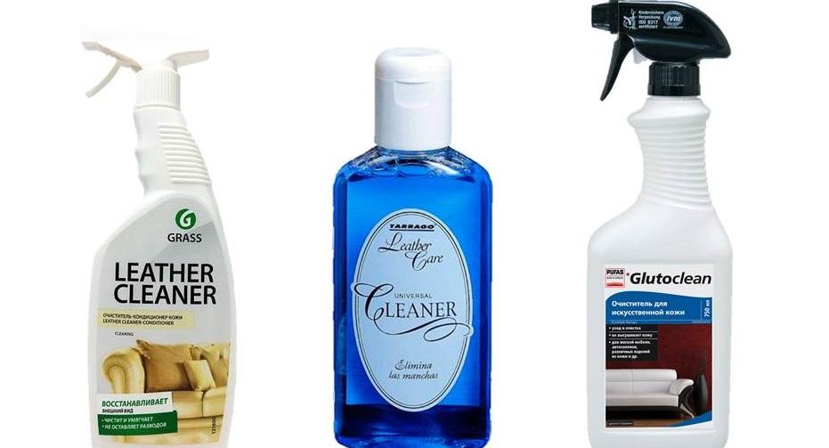какими средствами чистить экокожу