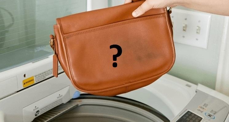 не испортит ли машинка сумку из кожзама