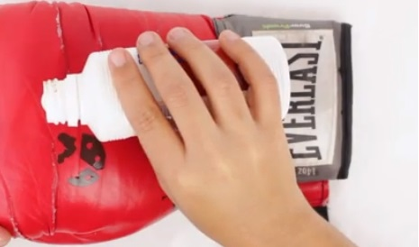 очистка перчаток