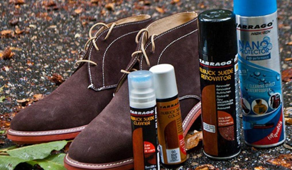 средства для замшевой обуви