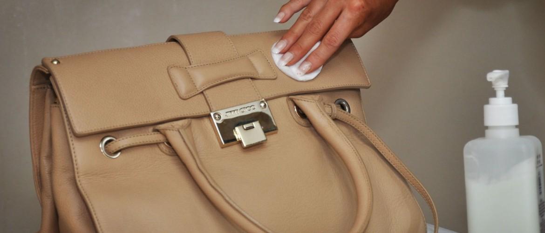 чистка кожаной сумочки