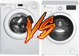 Какая стиральная машина лучше: Канди или Беко?