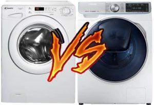 Какая стиральная машина лучше Candy или Samsung