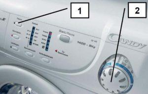 Сброс программы на стиральной машине Candy