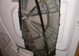 Замена ремня на стиральной машине Electrolux