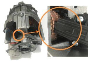 Замена щеток двигателя на стиральной машине Electrolux