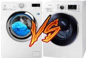 Какая стиральная машина лучше: Самсунг или Электролюкс?