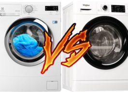 Какая стиральная машина лучше: Электролюкс или Вирпул?