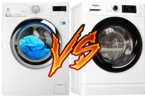 Какая стиральная машина лучше Электролюкс или Вирпул