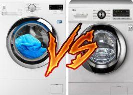 Какая стиральная машина лучше: LG или Electrolux?