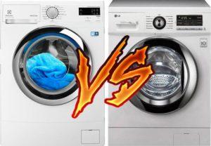 Какая стиральная машина лучше LG или Electrolux