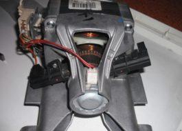 Как заменить щетки двигателя стиральной машины Занусси?