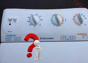 Как пользоваться стиральной машиной Electrolux