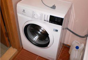Как установить стиральную машину Electrolux?