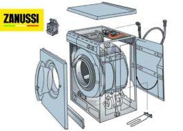 Как устроена стиральная машина Занусси?
