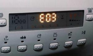 Ошибка E03 в стиральной машине Занусси
