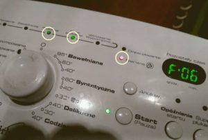 Ошибка F06 в стиральной машине Whirlpool
