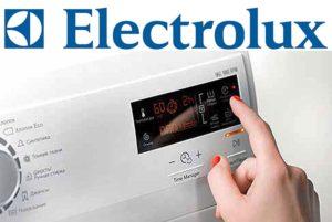 Перезагрузка стиральной машины Электролюкс