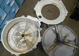 Разборка барабана стиральной машины Занусси