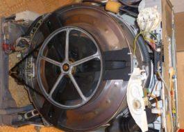 Разборка стиральной машины Electrolux