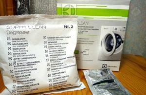 Чистка стиральной машины Electrolux