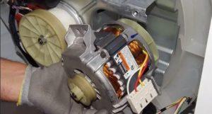 Ремонт мотора стиральной машины своими руками