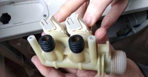 замена впускного клапана Электролюкс