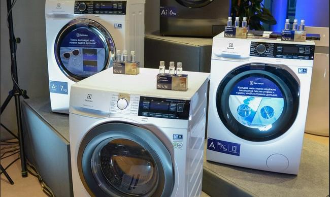 линейка стиральных машин Электролюкс