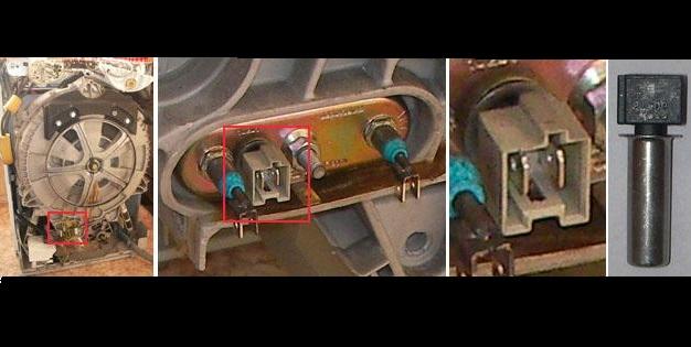 находим термистор в машинке Занусси