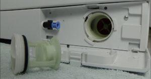 очищаем ворсовый фильтр Электролюкс