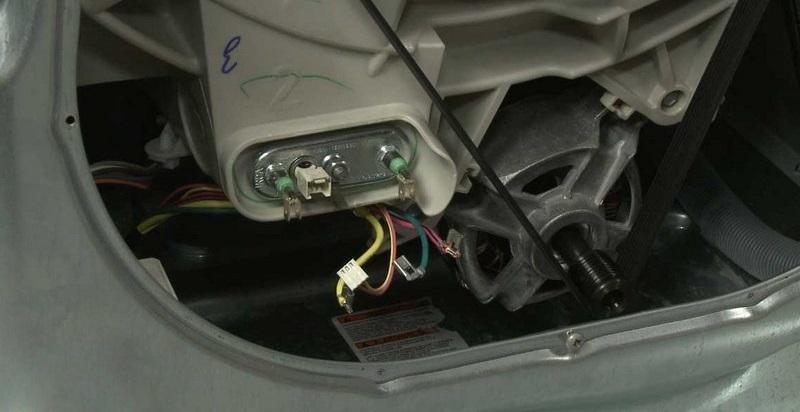 поменяем ТЭН на машинке Электролюкс