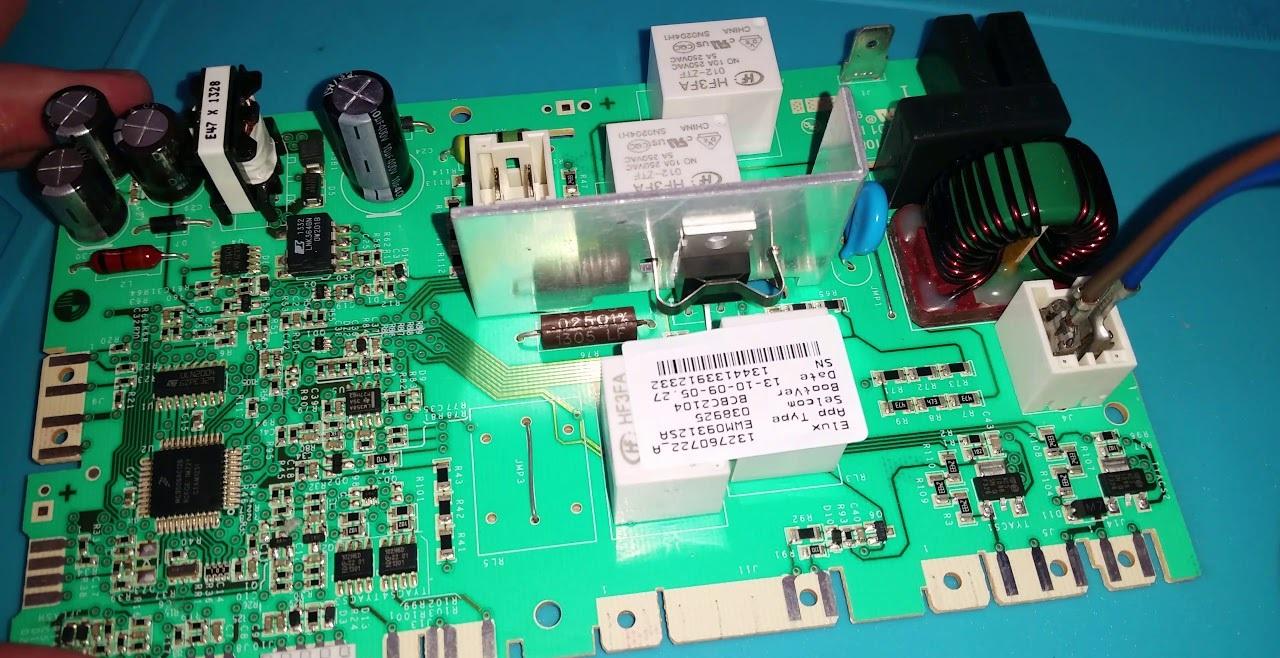 проверим модуль Электролюкс