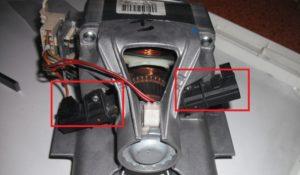 проверяем щетки двигателя