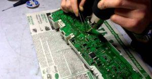профессиональный ремонт управляющей платы