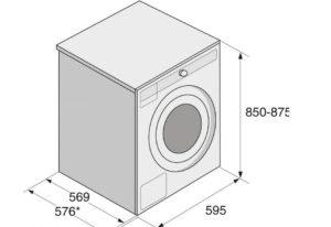Габариты стиральных машин Miele