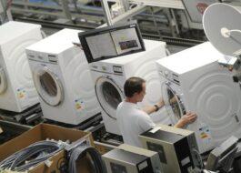 Где производят стиральные машины Siemens?